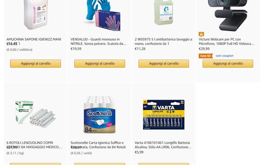 """Lista Amazon """"Aiutiamo Vivi Down"""""""